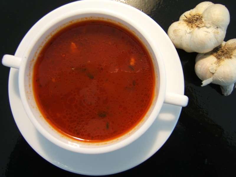 tomaten-knoblauchsuppe