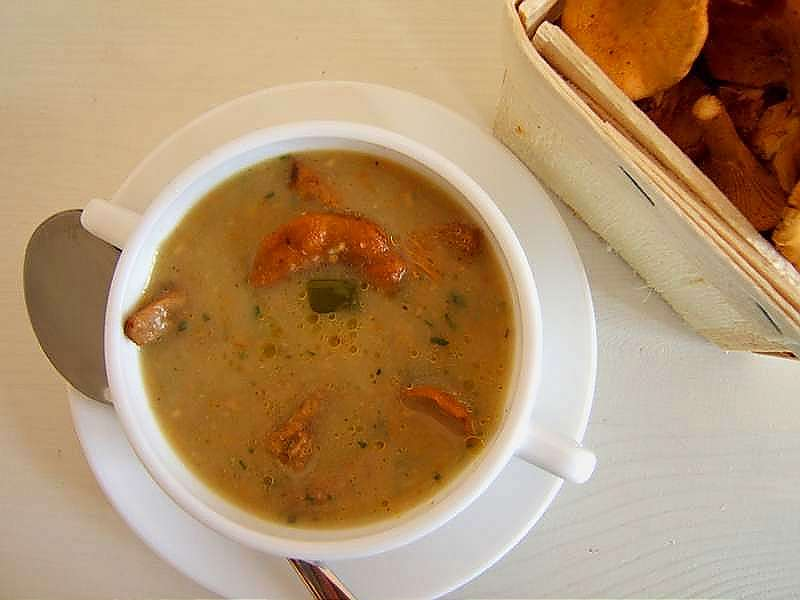 pfifferlingssuppe