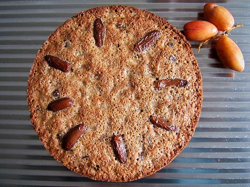 dattel-birnenkuchen