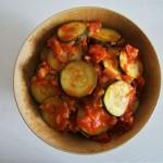 Zucchini auf indische Art (Gebratene Zucchini auf indische Art)