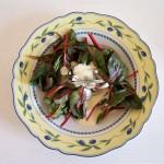Mangoldsalat mit Senfsauce (Mangoldsalat mit Senfsauce)