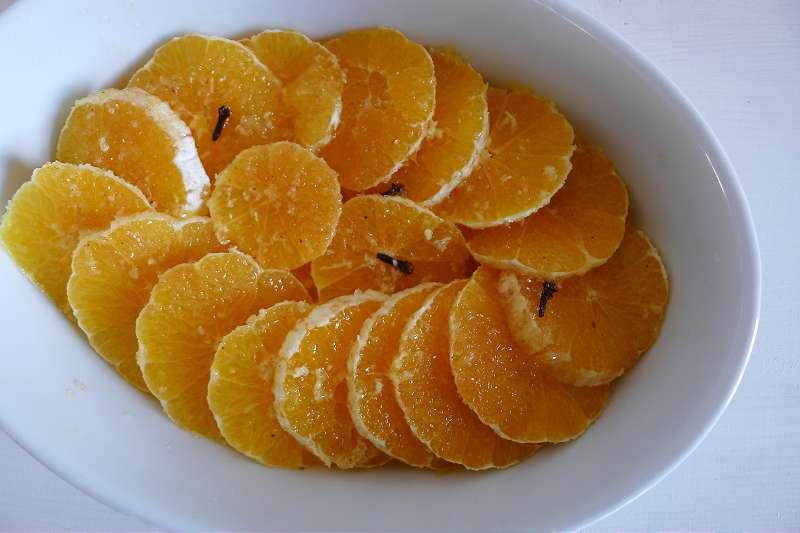 Gebackene Orangen