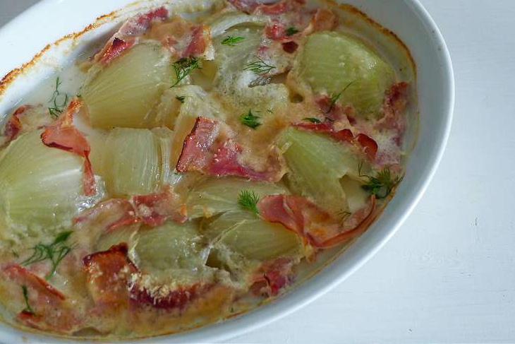kartoffelsalat mit gurke und radieschen