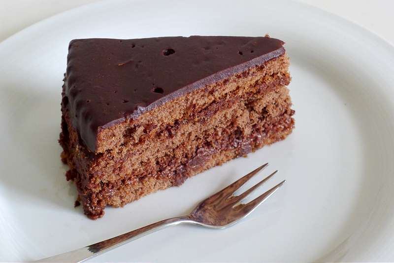 Schokoladen-Sahnetorte