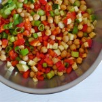 Scharfer Kichererbsensalat mit Zucchini_ji-W800 (Scharfer Kichererbsensalat mit Zucchini)